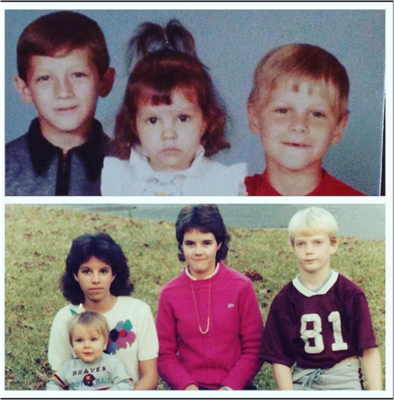 Papa Jonas with his siblings.