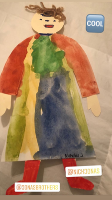 Little art by Nicholas J.- Thanks Mrs. Jonas for the memories