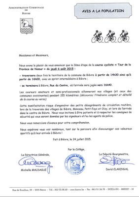Tour de la province de Namur 2015 (Gedinne-Vresse-Bièvre)
