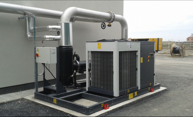 Enfriadores de biogas - secadores de biogás