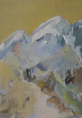 Monte Verde, 2013, Eitempera auf Leinwand 70x50 cm