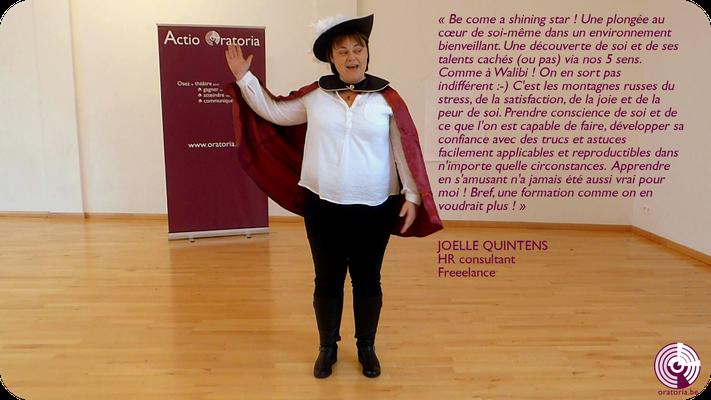 Joelle Prise de Parole en Public Communication Belgique