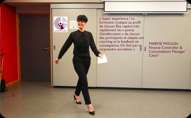 Emanuelle Prise de Parole en Public Communication Belgique