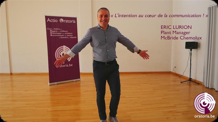 Eric Prise de Parole en Public Communication Belgique