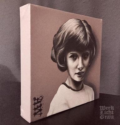 """Nostalgia I"", Acryl auf Leinwand, 30 x 30 cm"
