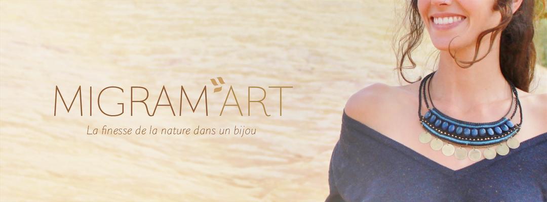 Migramart Bijoux • Charte Graphique • Identité Visuelle • Papeterie • Leïla Larose • Graphiste • Vaucluse
