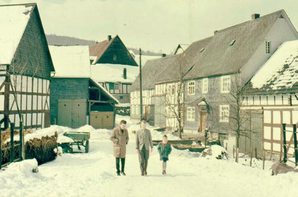 Blick von der Hellerbrücke (1955)