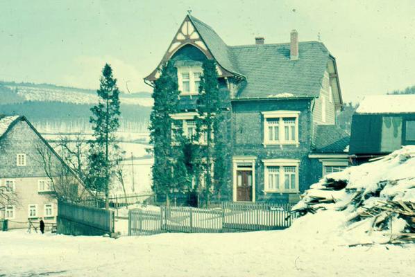 Haus Koch mit Sägewerk (1955)