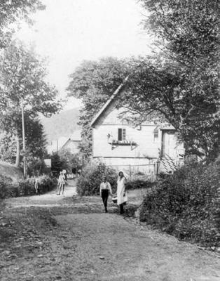 """Haus Beitz """"Wächter Willem"""" Langenholzstraße (1925)"""