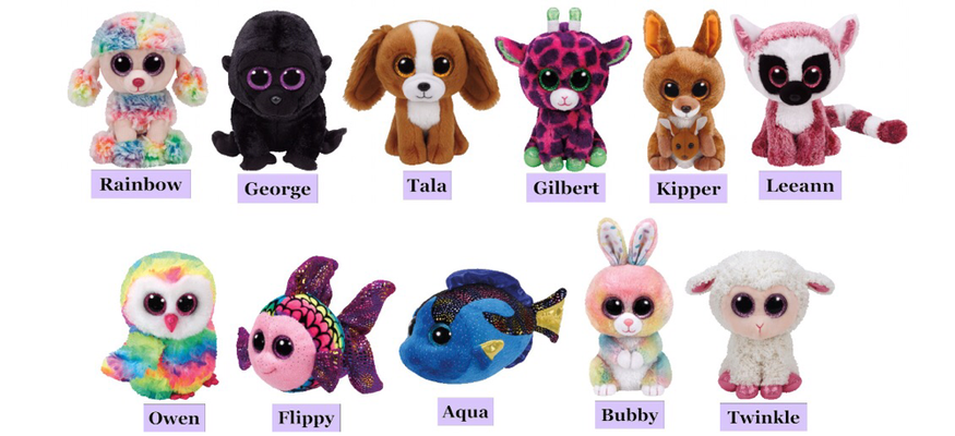 (01 January 2017) Ty has Released this years batch of January Beanie Boo  Releases including two new Easter Boos! 746adc75c55f