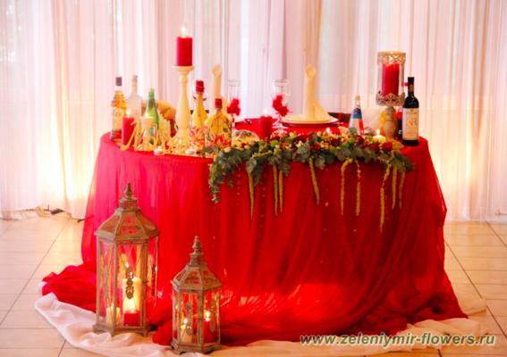 оформление свадебного зала казанская
