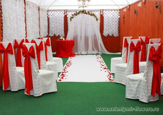 оформление свадебного стола боковская