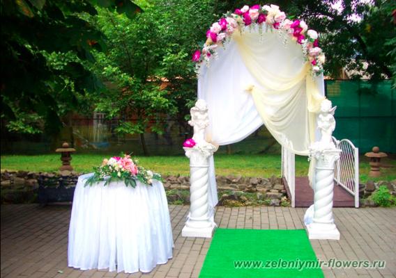 цветочное оформление свадьбы новочеркасск