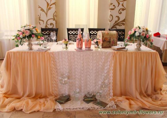 оформление свадебной арки боковская