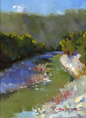 Creek Near Glen Rose
