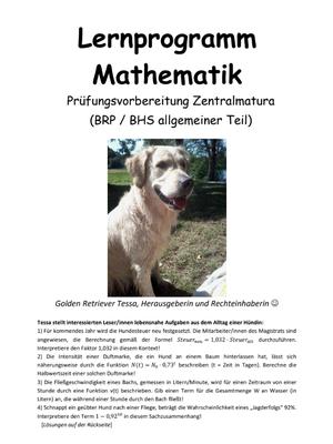 Lernprogramm Mathematik Prüfungsvorbereitung Zentralmatura BHS allgemeiner Teil