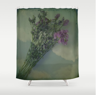 Customize your bathroom decor with unique shower curtains designed by artists around the world. Made from 100% polyester our designer shower curtains are printed in the USA and feature a 12 button-hole top for simple hanging.