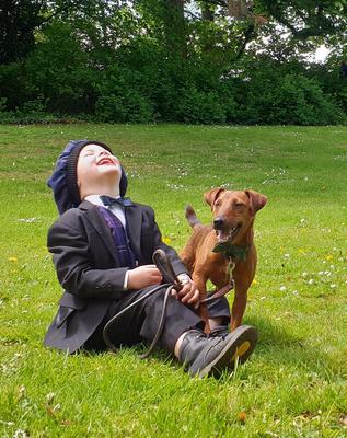 Kinder lernen ihren Hund erziehen bei Simsammlerbim