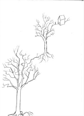 Baum-Baum-Haus