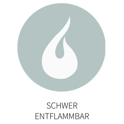 FLOXXAN ist schwerentflammbar (siehe Qualität)