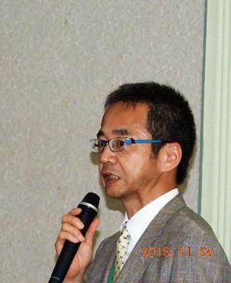 京都工芸繊維大学繊維科学センター長佐久間淳教授様からの閉会の辞