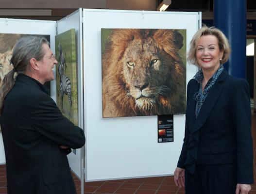 Serengeti Ausstellung auf der ITB