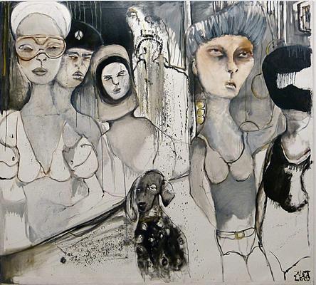 PUSSY DE LUXE, 170/150cm , 2010, ÖaL