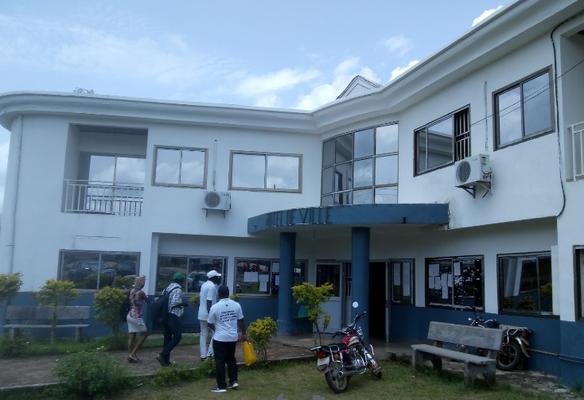 Yabassi, Hotel de ville de face