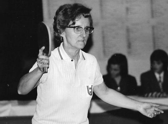Als Margit Toth (verehelichte Schieder) gewann die Hollabrunnerin zahlreiche Titel bei Landesmeisterschaften.