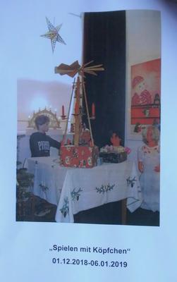 Plakat der Weihnachtsausstellung