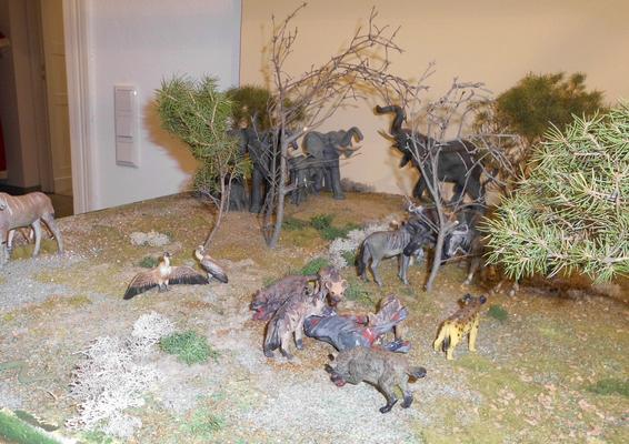 Hyänen am Riß