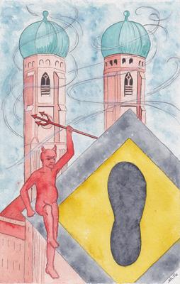 Teufelstritt: Frauenkirche