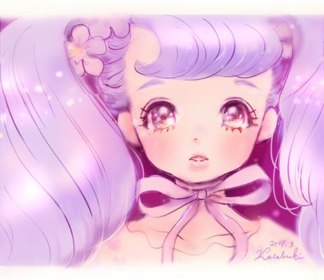 『紫の乙女』 使用ツール/SAI