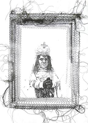 037 A Lai Maria 1979 Italia carta mista, fotocopia 28x39 cm