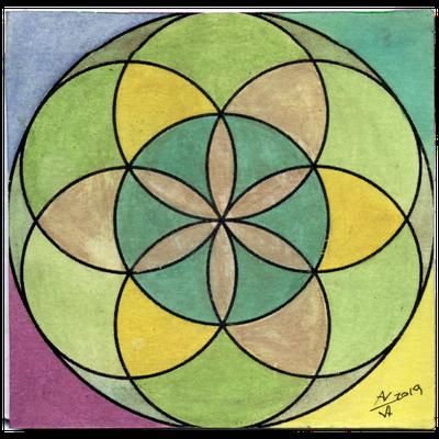 Fiore della vita N. 11