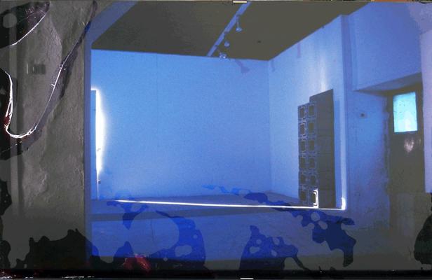 08B, Bacino Gianni, s.t.1991, carta fotografia , 45x30, magazzino temp. costante gradi 16/18 piano alto, immagine fotografica con data e firma dell'autore nel retro