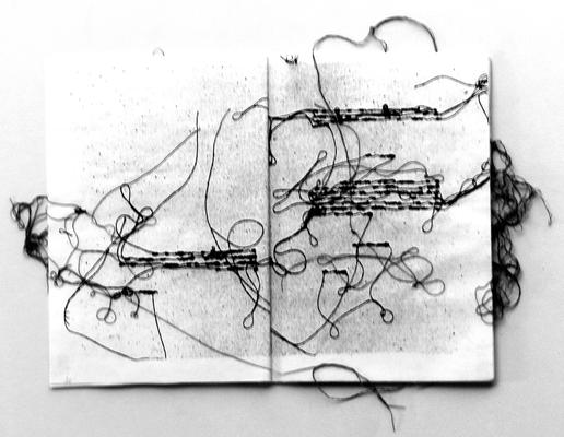 037 H 01 (esterno) Lai Maria s.d. Italia carta xilografie in 2 libretti  cucite con fili di cotone 1/30 – 2/30  15x21