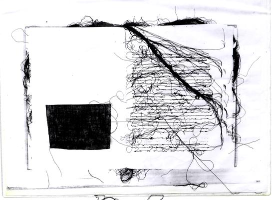 037 F Lai Maria s.d. Italia carta xilografia  39x30 cm