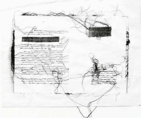 037 D Lai Maria s.t. Italia carta xilografia 99/1000 38,5x30