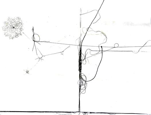 037 G Lai Maria s.d. Italia carta xilografia  38,5x28,5 cm