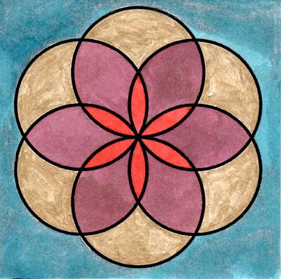 Fiore della vita N. 15