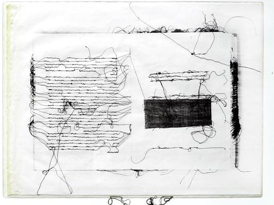 037 E Lai Maria s.d. Italia carta xilografia  39,5x30 cm