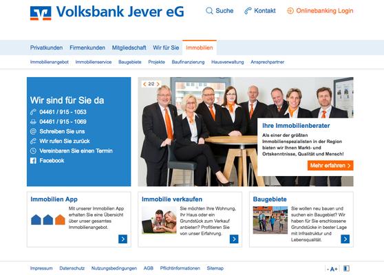 Kunde: Volksbank Jever eG