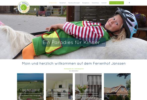 Kunde: Ferienhof Janssen Horumersiel