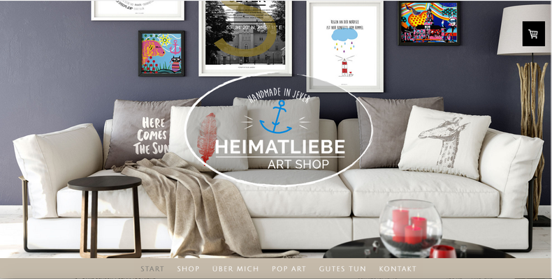 Kunde: Shop Heimatliebe Art