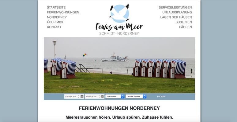 Kunde: Fewos am Meer - Schmidt Norderney