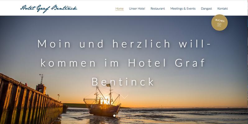 Kunde: Hotel Graf Bentinck Dangast