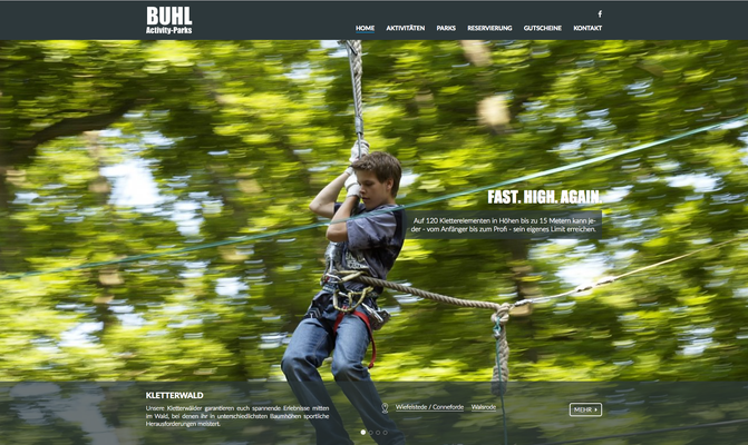 Kunde: Buhl Activity Parks GmbH
