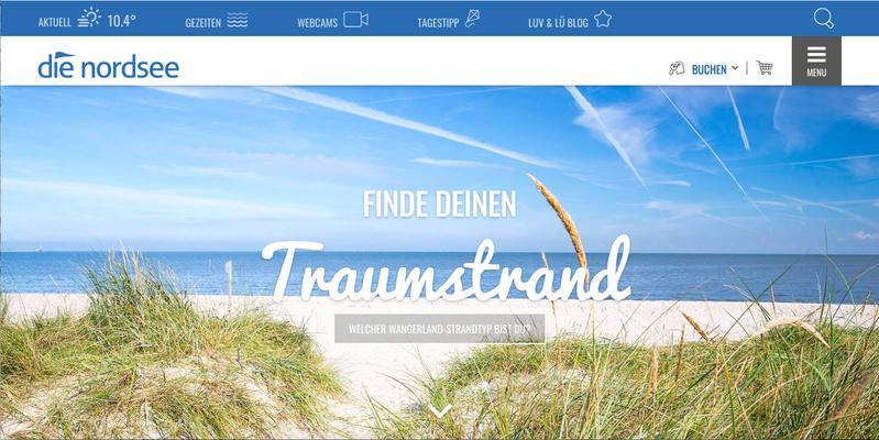 Kunde: Wangerland Touristik GmbH