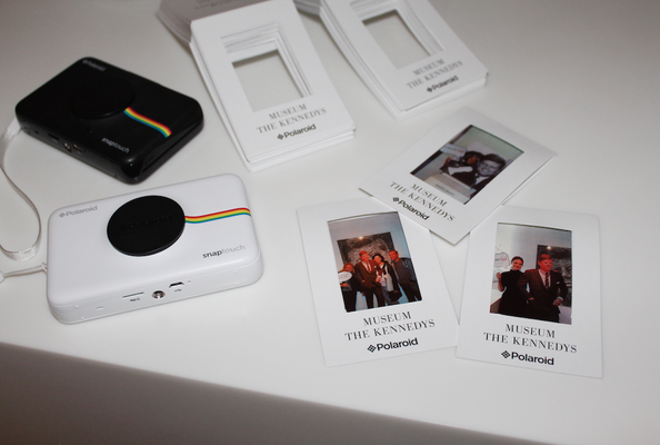 Programmpunkt »Photo Booth« in Kooperation mit Polaroid